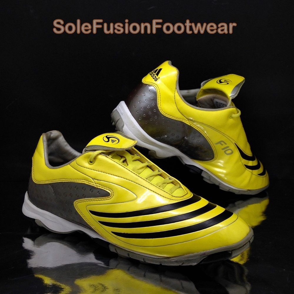 Adidas hombre  TRX Turf Football Trainers Amarillo Talla 8 futbol F10