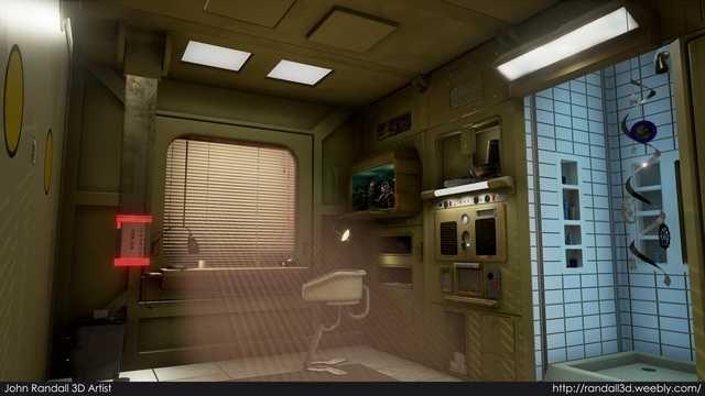 Cozy Cyberpunk Apartments - Future Compact Living   Dallas ...