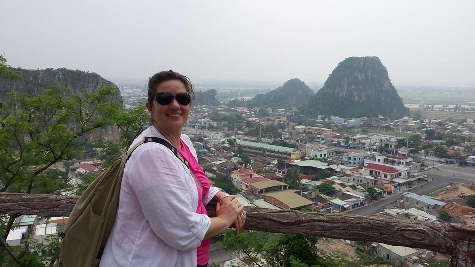 Marble Mountain In Da Nang Vietnam Beautiful View Beautiful Views Da Nang Natural Landmarks