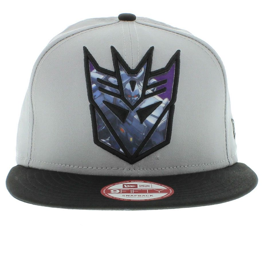 0b50a726a8a4b ... official decepticon the sub action 2 snapback gray black by new era cap  14436 0a3c2