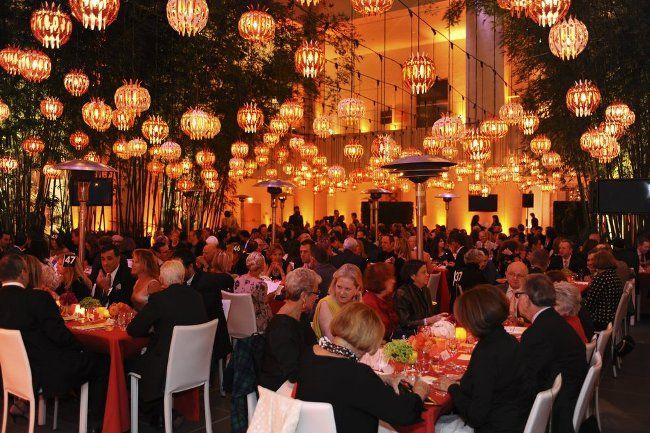 Lanterns Ceiling Decor Gala Decorations Event Planning Inspiration