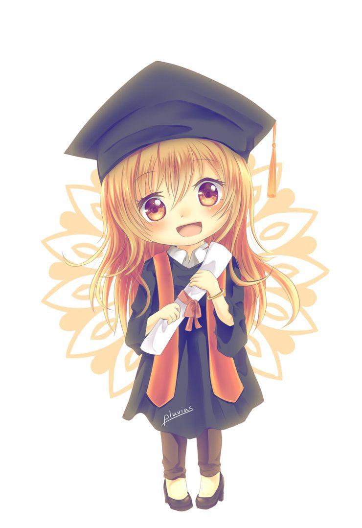 Happy Graduation Chibi Drawings Chibi Anime Chibi