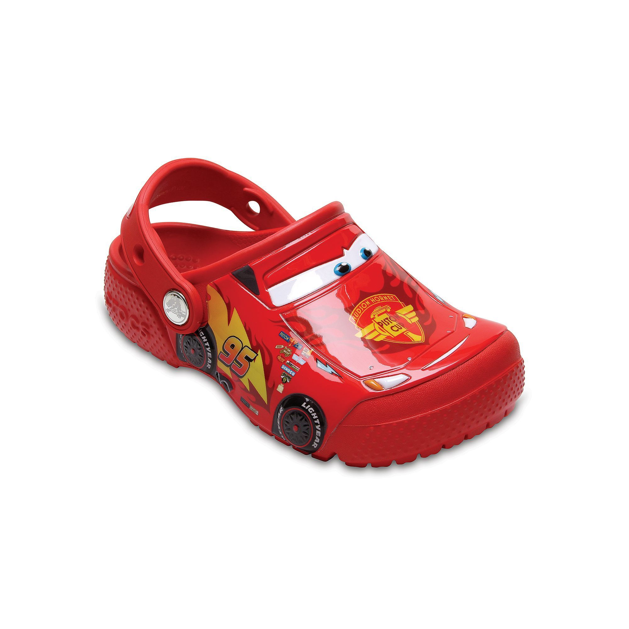 5852f53bd Crocs Disney / Pixar Cars Lightning McQueen Kids Clogs, Size: 10 T, Orange