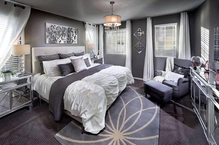 Lennar model bedroom interior design pinterest for Dormitorio principal m6 deco