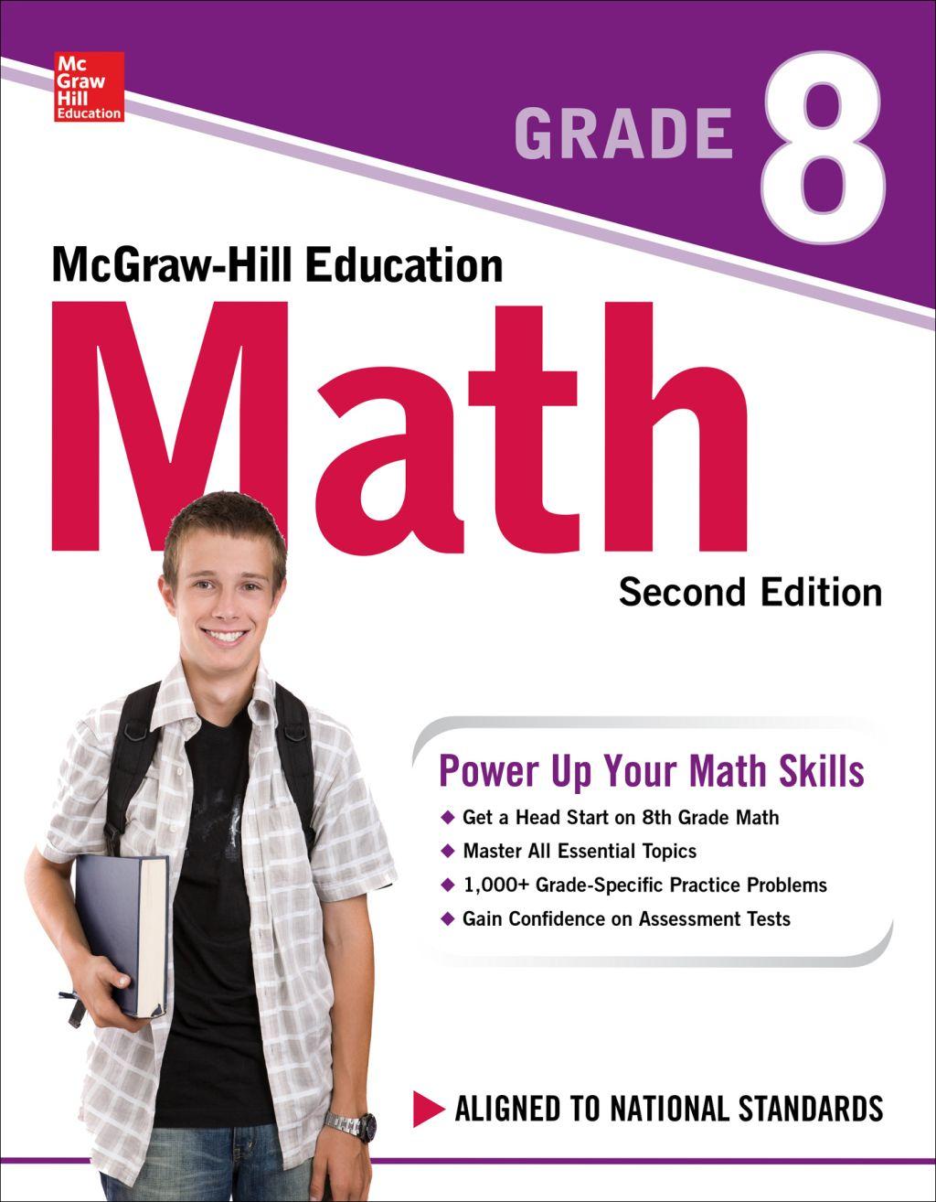 Mcgraw Hill Education Math Grade 8 Second Edition Ebook