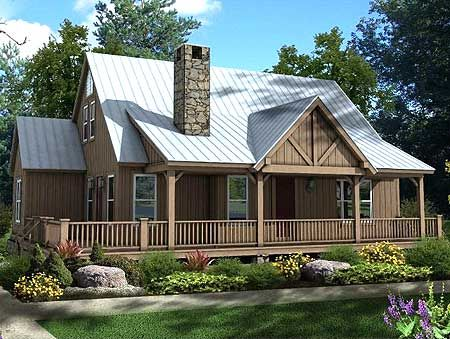 Plan 58551sv three master bedrooms house plans styles for Mountain vacation home plans