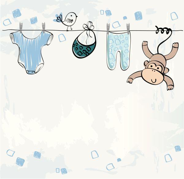 Dibujos para ni o para baby shower imagui babyshawer - Dibujos pared bebe ...