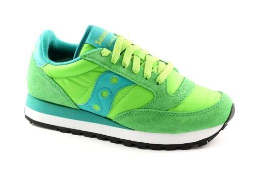 SAUCONY S1044-347 JAZZ ORIGINAL verde scarpe donna sneakers unisex