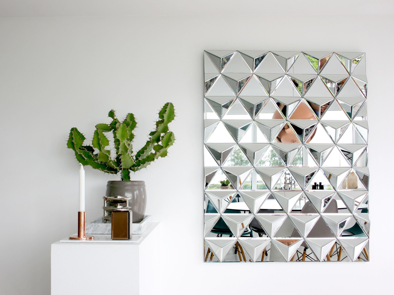 Specchio rettangolare a parete billion square by reflections
