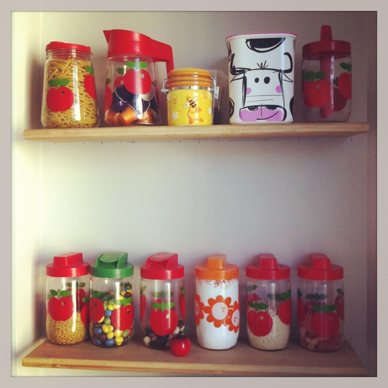 Mon petit coin de cuisine avec ma collection d 39 henkel tupperware henkel henkel collection - Petit coin cuisine ...