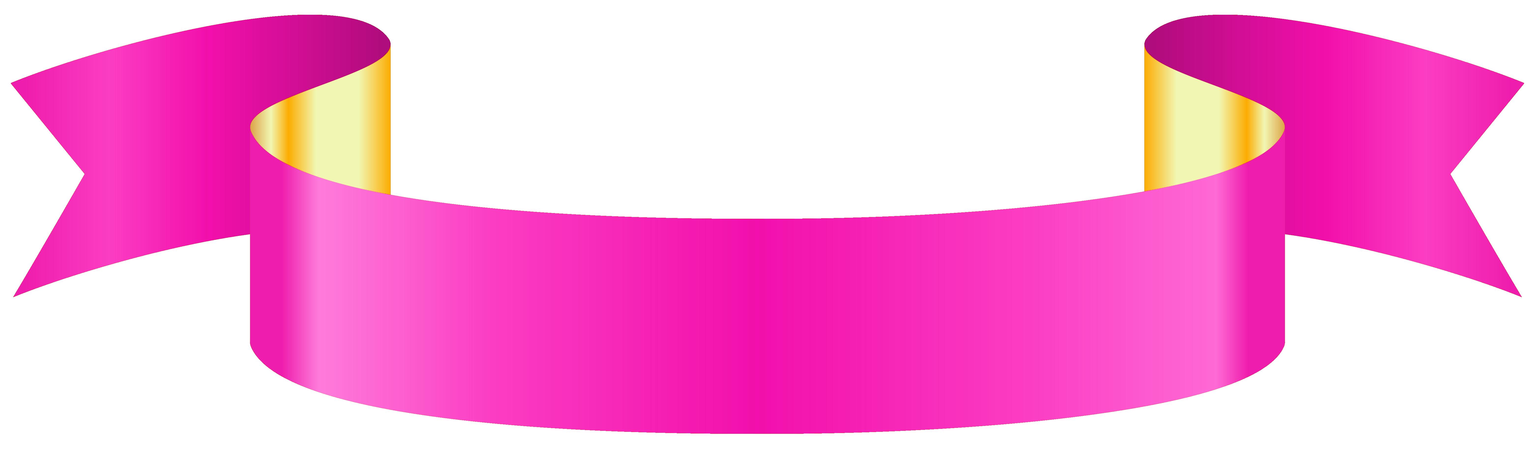 Pink Banner Transparent Png Clip Art Image Clip Art Free Clip Art Art Images