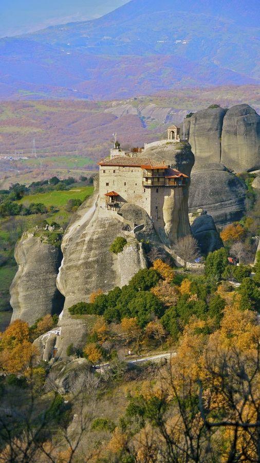 Meteora, Thessalia, Greece