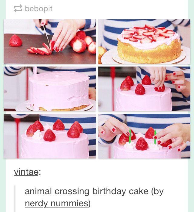 Awesome Animal Crossing Birthday Cake Animal Crossing Qr Codes Animal Funny Birthday Cards Online Necthendildamsfinfo