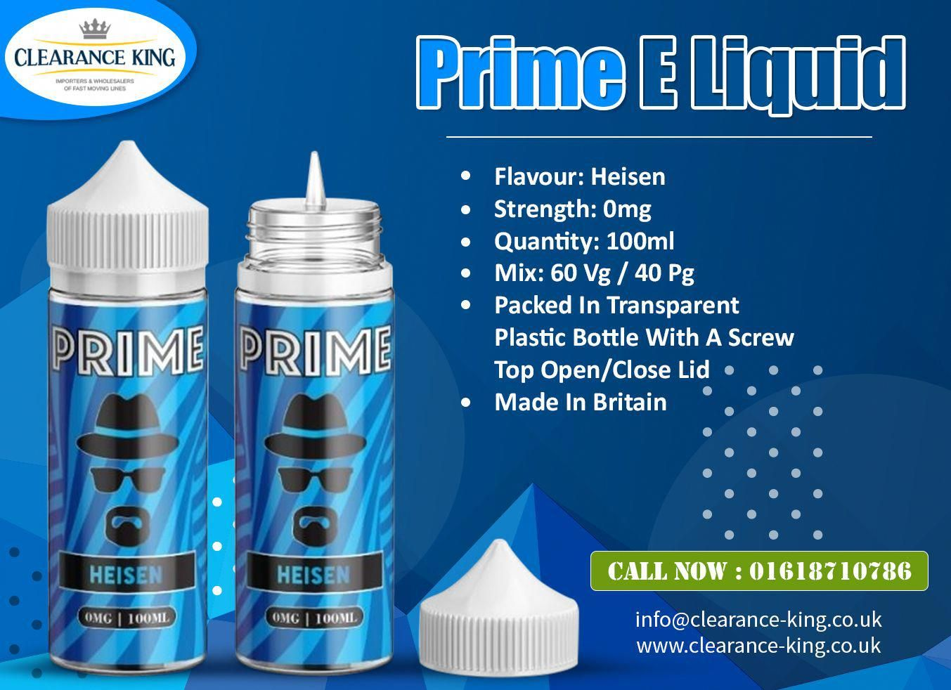 Wholesale Prime E Liquid Heisen 0mg 100ml Order Now Wholesalereliquid Eliquidwholesale Heisen Wholesaleruk Whole E Liquid Flavors Pound Shops Liquid