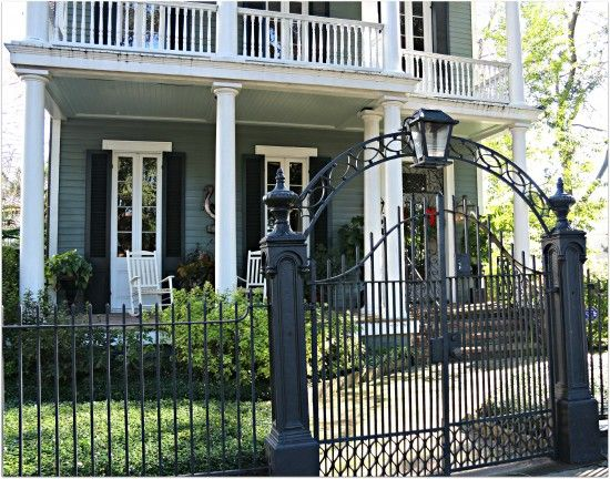 Wrought Iron Fences And Gates In New Orleans With Images Farm
