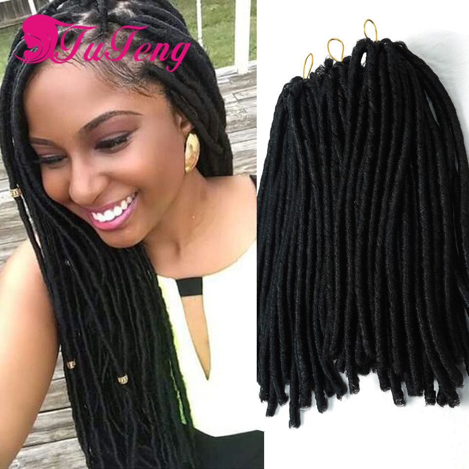Hair Weaves Directly From China Suppliers Best Faux Locs Dreadlock Synthetic Braiding