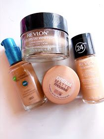 Cosmetic Queen Blog: My Top Favorite Drugstore Foundations!