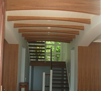 Chevron Grain Wood Veneer Wallpaper Free Shipping Wood Wall Covering Wood Wallpaper Flexible Wood
