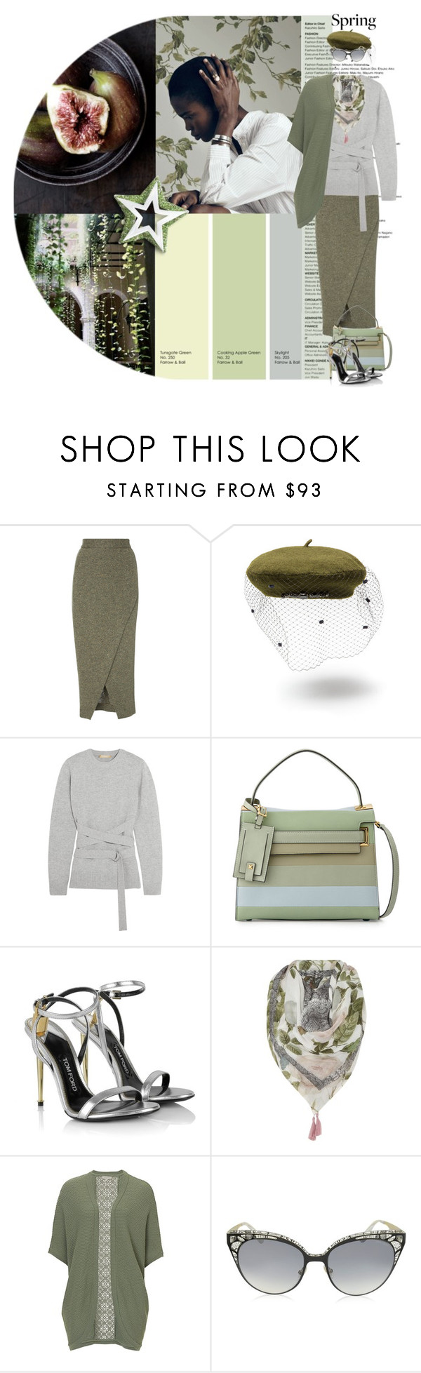 """One Always Loves the Person Who Understands You"" by terrelyn-thomas-no-tags ❤ liked on Polyvore featuring Radà, Michael Kors, Valentino, Tom Ford, Oui, Jimmy Choo and parisienneflavor"