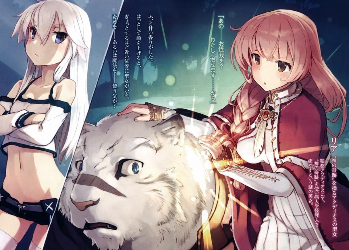 foto de Kết quả hình ảnh cho Zero Kara Hajimeru Mahou no Sho light novel anime stuffs Pinterest