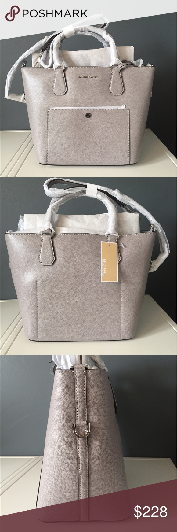 da832a6982 ️ONE DAY SALE‼️Michael Kors Large Grab Bag Gorgeous brand new with ...