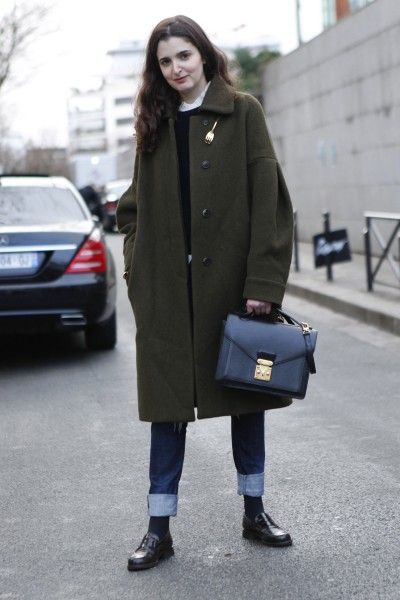 Street Style Looks from Haute Couture FW'14 in Paris - FLARE