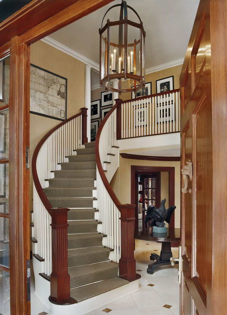 Designed by Rinfret Ltd. Beautiful stairs, Country style
