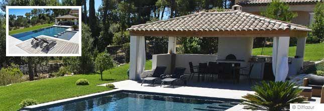 Pool house piscine avec cuisine et salon Home ideas Pinterest
