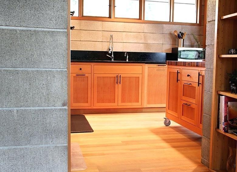 Image result for vertical grain douglas fir cabinets ...
