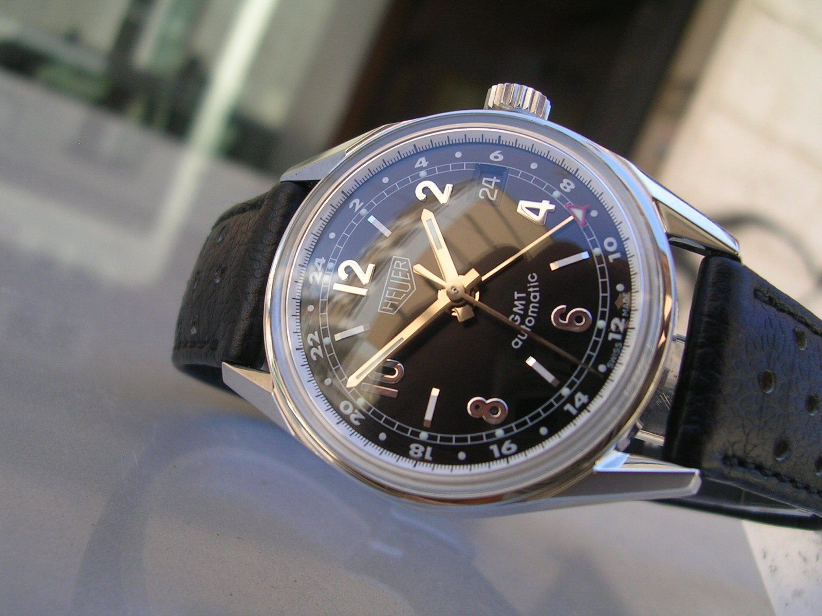 TAG HEUER CARRERA GMT 1964 RE-EDITION WS2113 | Watches ...