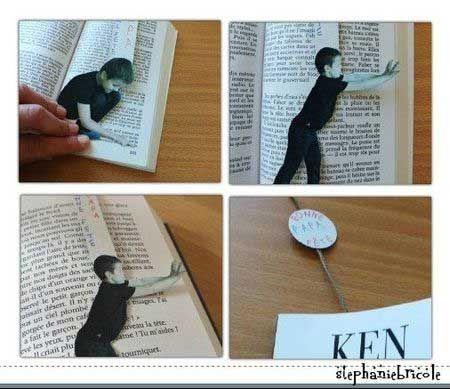 Como Hacer Marcapaginas Con Fotos Como Hacer Marcapaginas Separador De Libros Manualidades