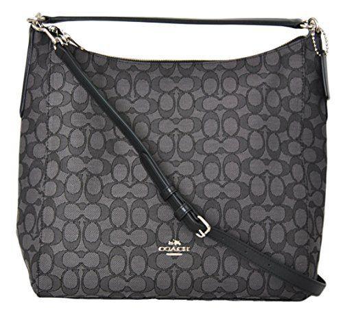 431f3b9e48 Coach F58327 purse – Celeste Hobo Signature Shoulder Crossbody Handbag