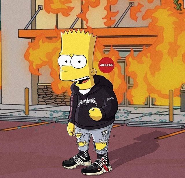 Simpson Supreme Wallpaper Group 34 Hd Wallpapers In 2019