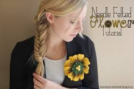 Image result for needle felted flowers