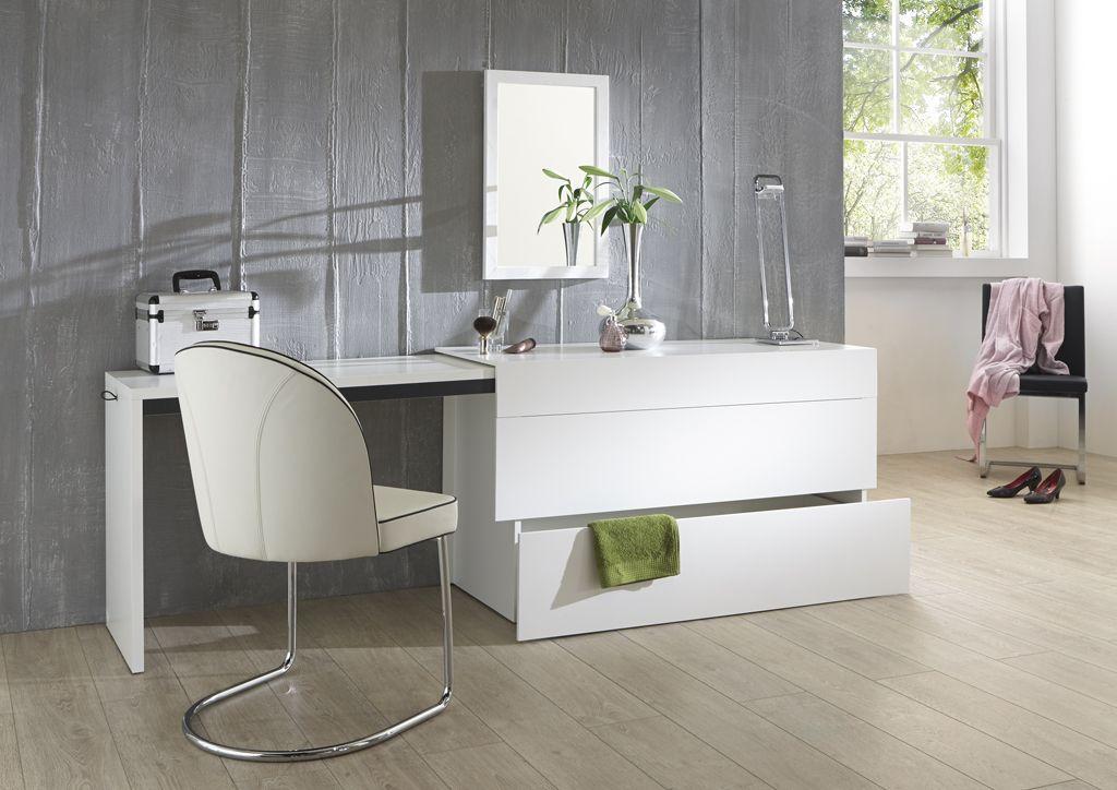 Schlafzimmer Kommode mit ausziehbarer Tischplatte
