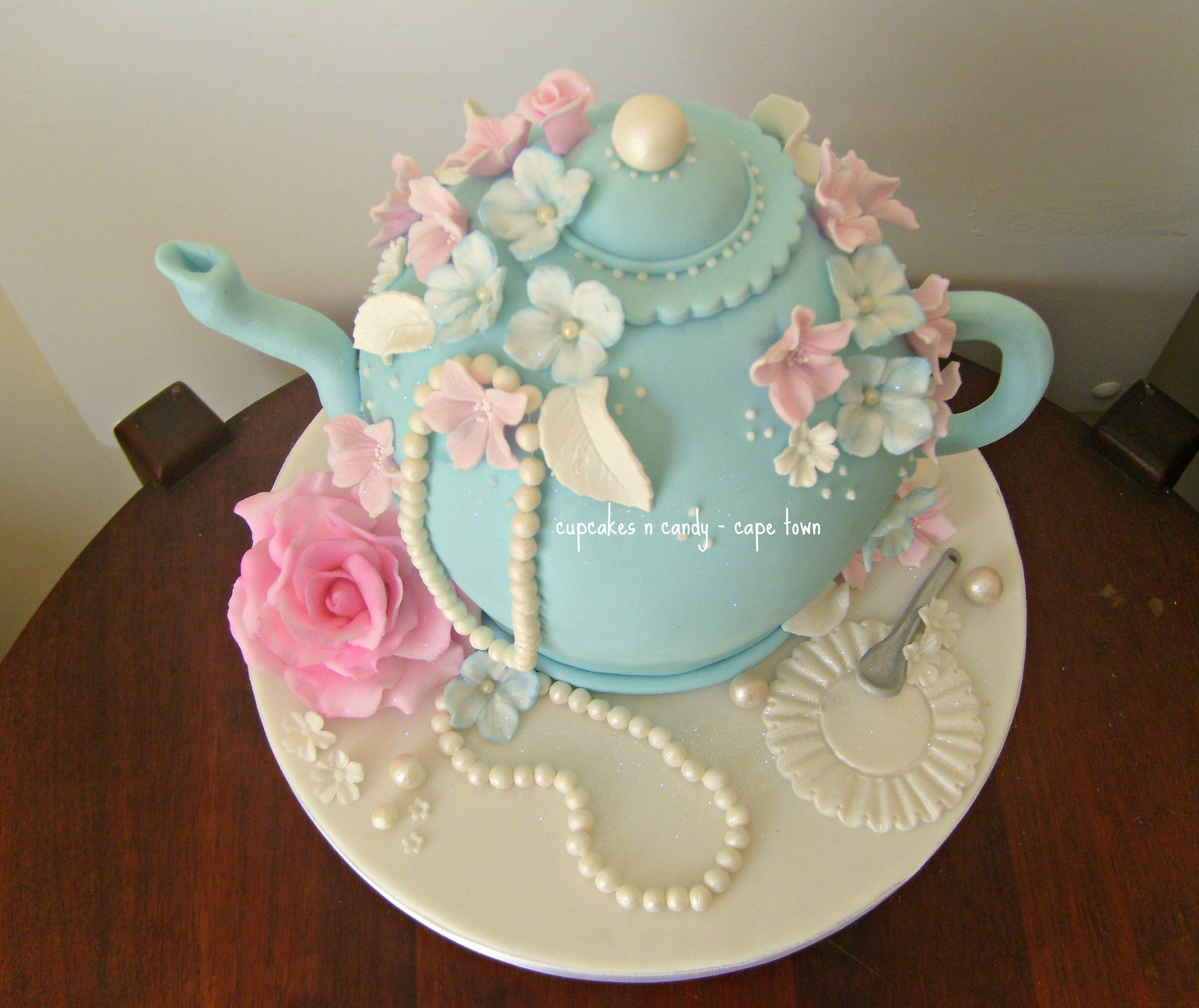 Swell How To Make A Teapot Cake Google Search With Images Tea Personalised Birthday Cards Cominlily Jamesorg