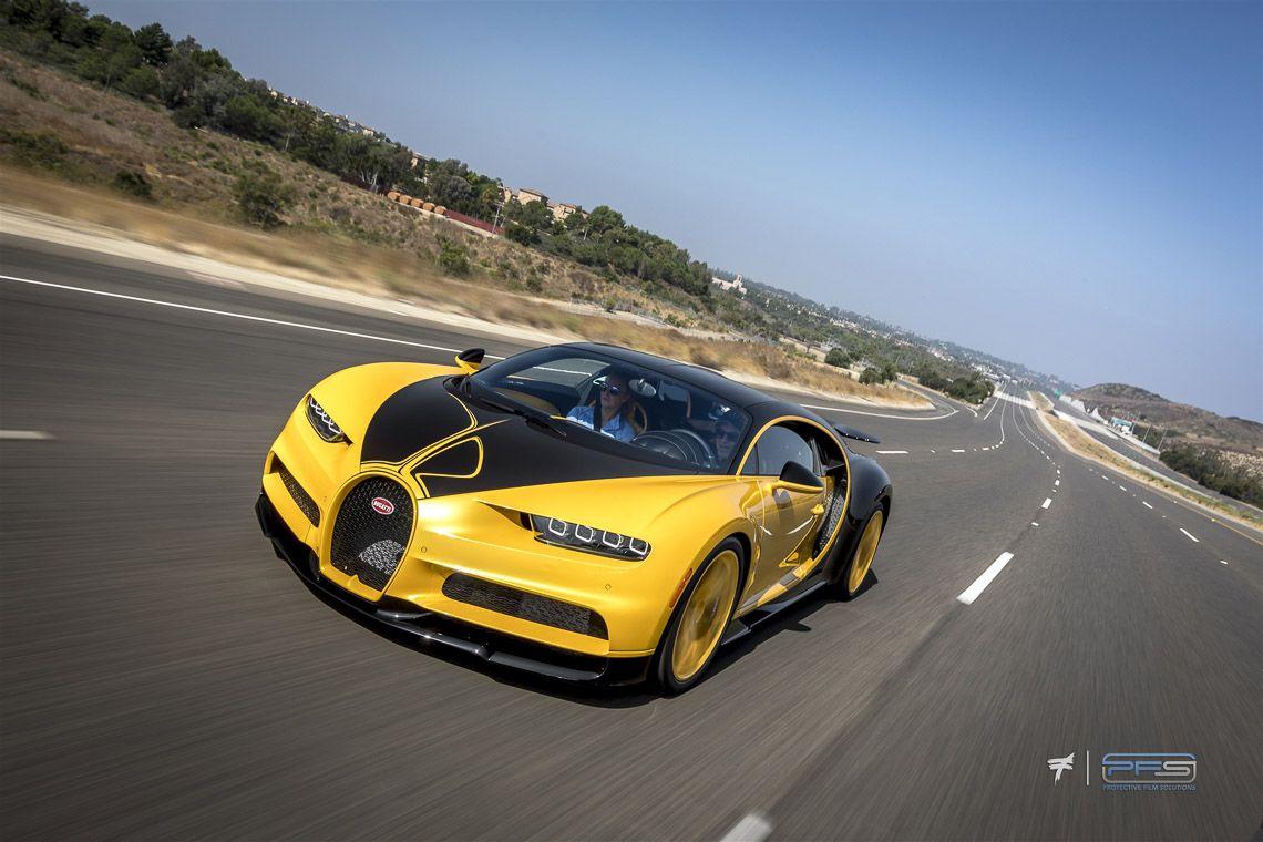 Bugatti Chiron Hellbee Rolling Shot Protective Film Solutions Bugatti Chiron Bugatti Bugatti Cars