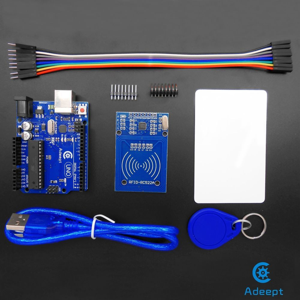 Adeept Arduino UNO R3 with RC522 RFID Reader Kit user manual for Arduino UNO R3