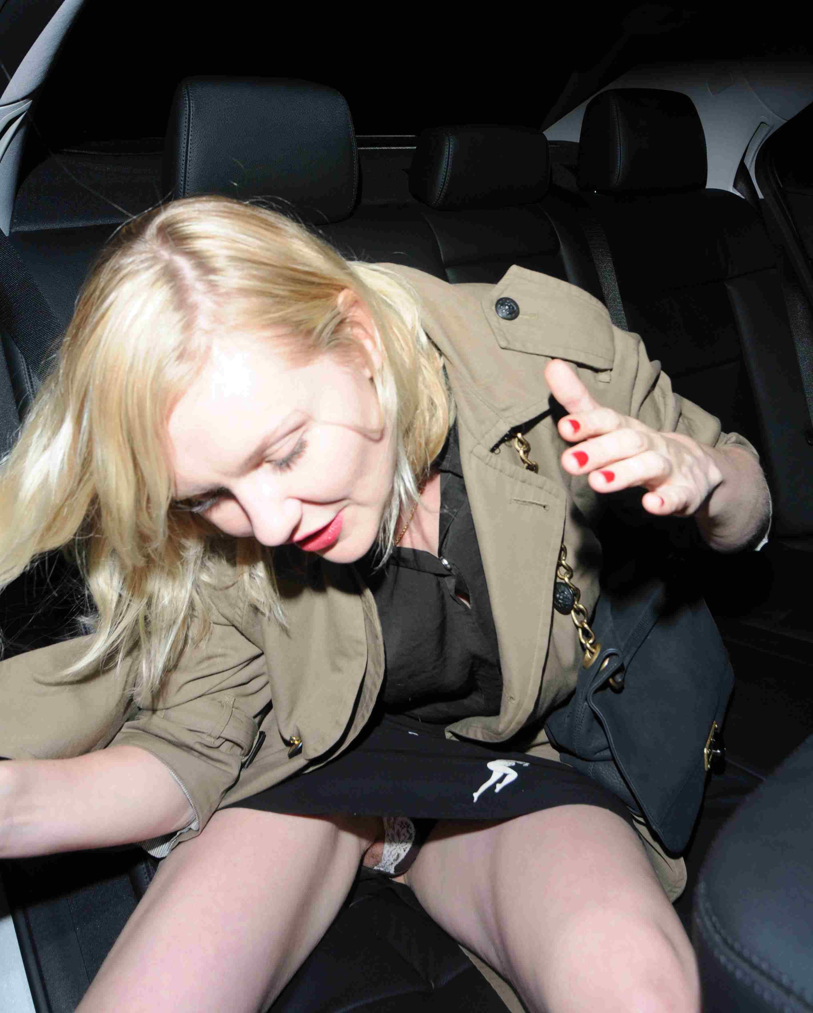 Celebrity Upskirt Crotch Shot