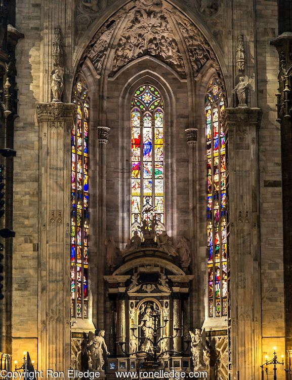 Duomo di Milano Artistic Photography by Ron Elledge
