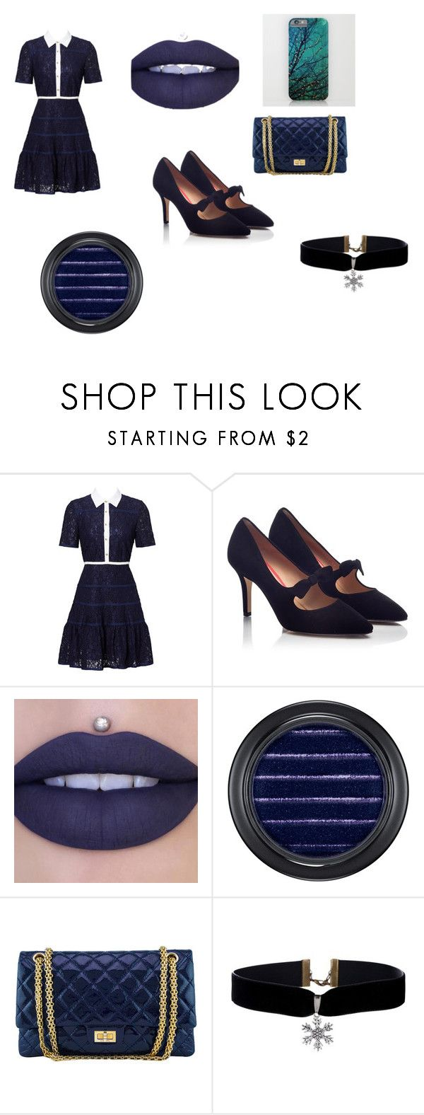 """""""School Outfit"""" by magicalpowers on Polyvore featuring Draper James, PAS DE ROUGE, MAC Cosmetics and Chanel"""