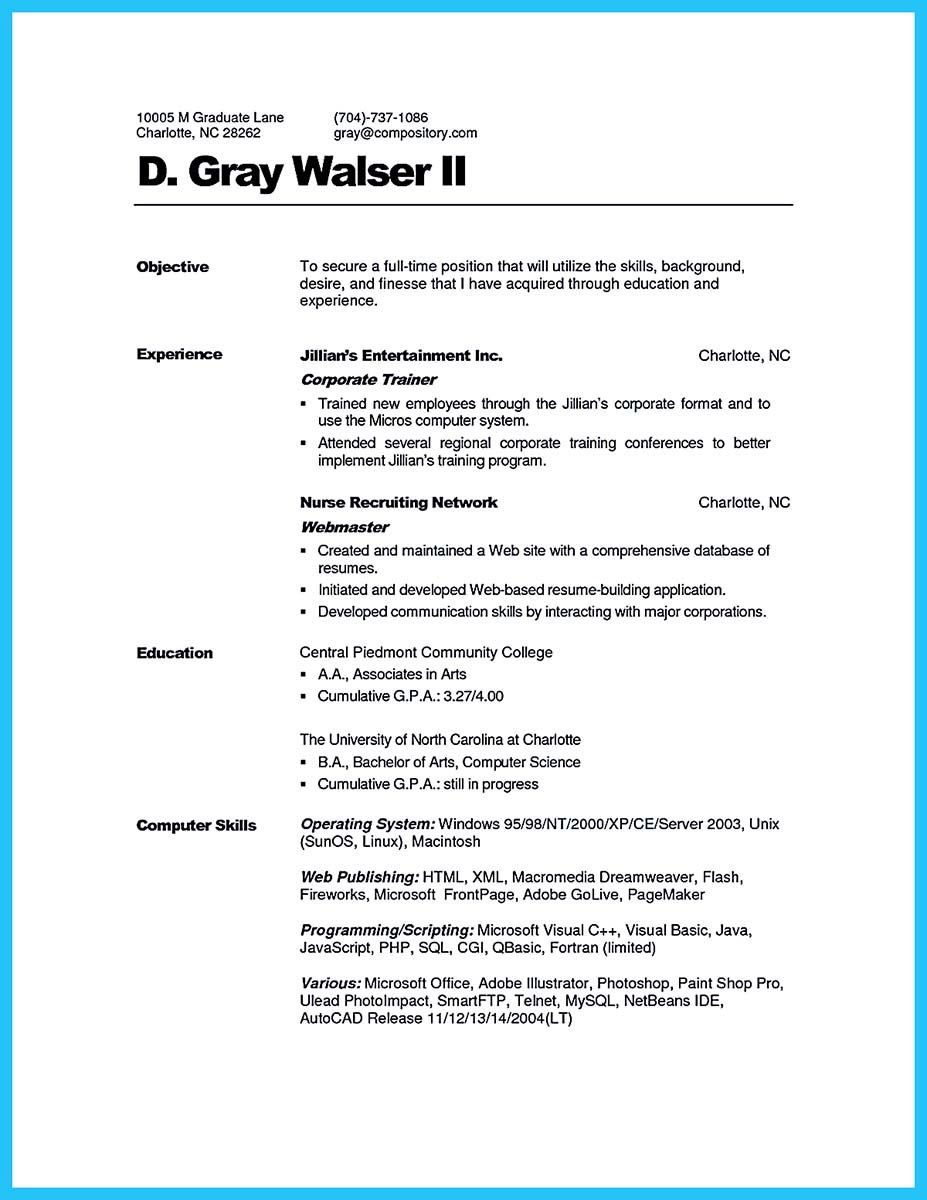 Trainer Resume Example Cool Brilliant Corporate Trainer Resume Samples To Get Job  Resume .