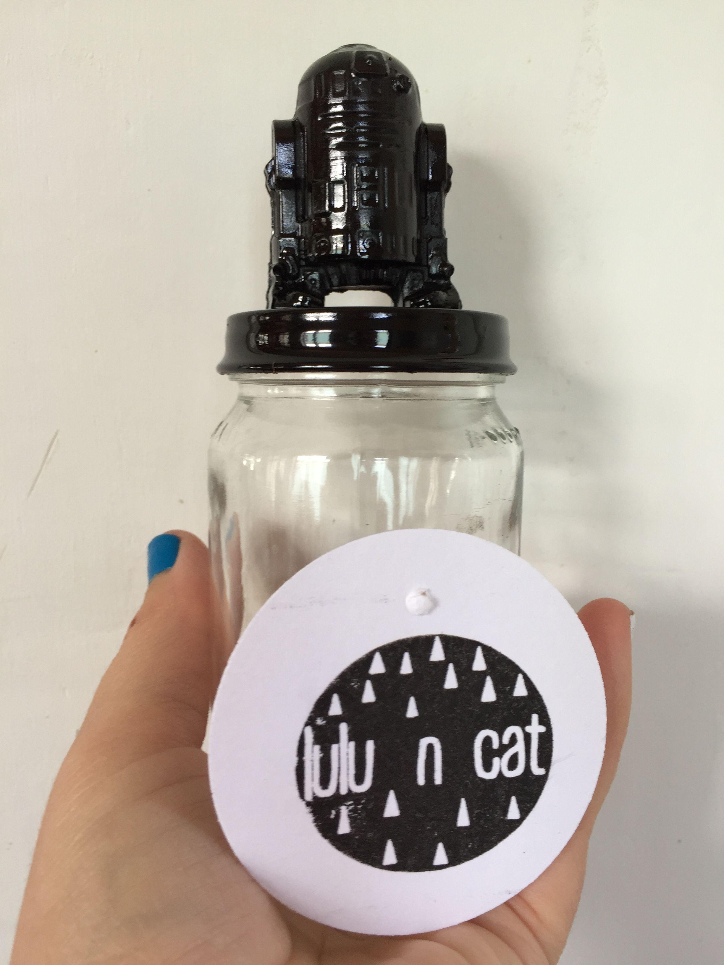 Black R2D2 Jar - Mini