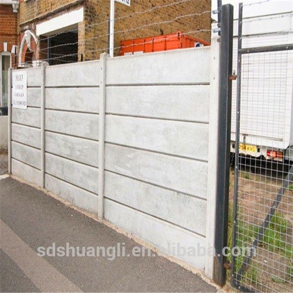 China Precast Concrete Fence Making Machine With Reinforced Concrete Fence Post Mold China Fence Fencing
