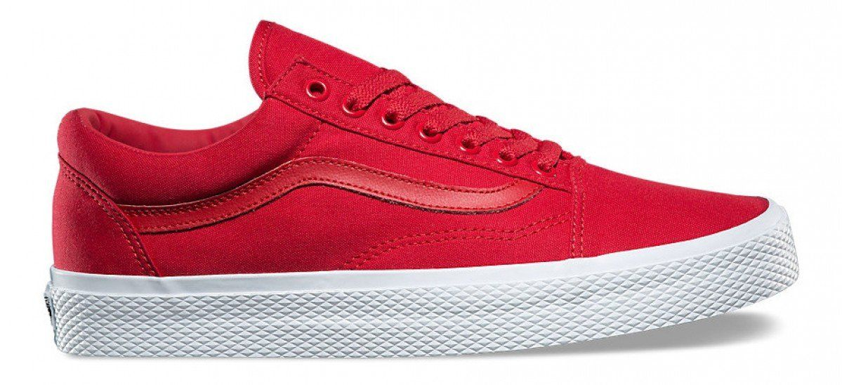 910fdc2d772 Vans Old Skool (Waffle Wall) Racing Red True White