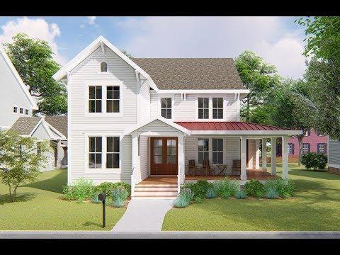 Architectural Designs Exclusive Farmhouse Plan VV Virtual Tour