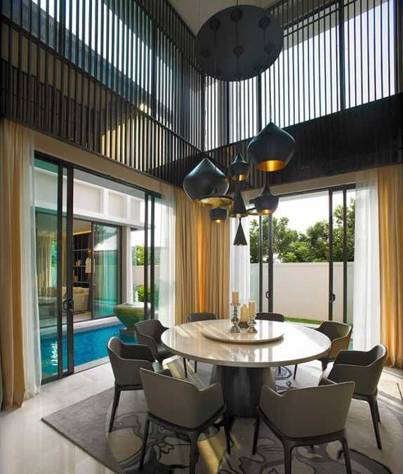 19 Ideas For Creating A Modern Dining Room: 15 Stylish Interior Design Ideas Creating Original And