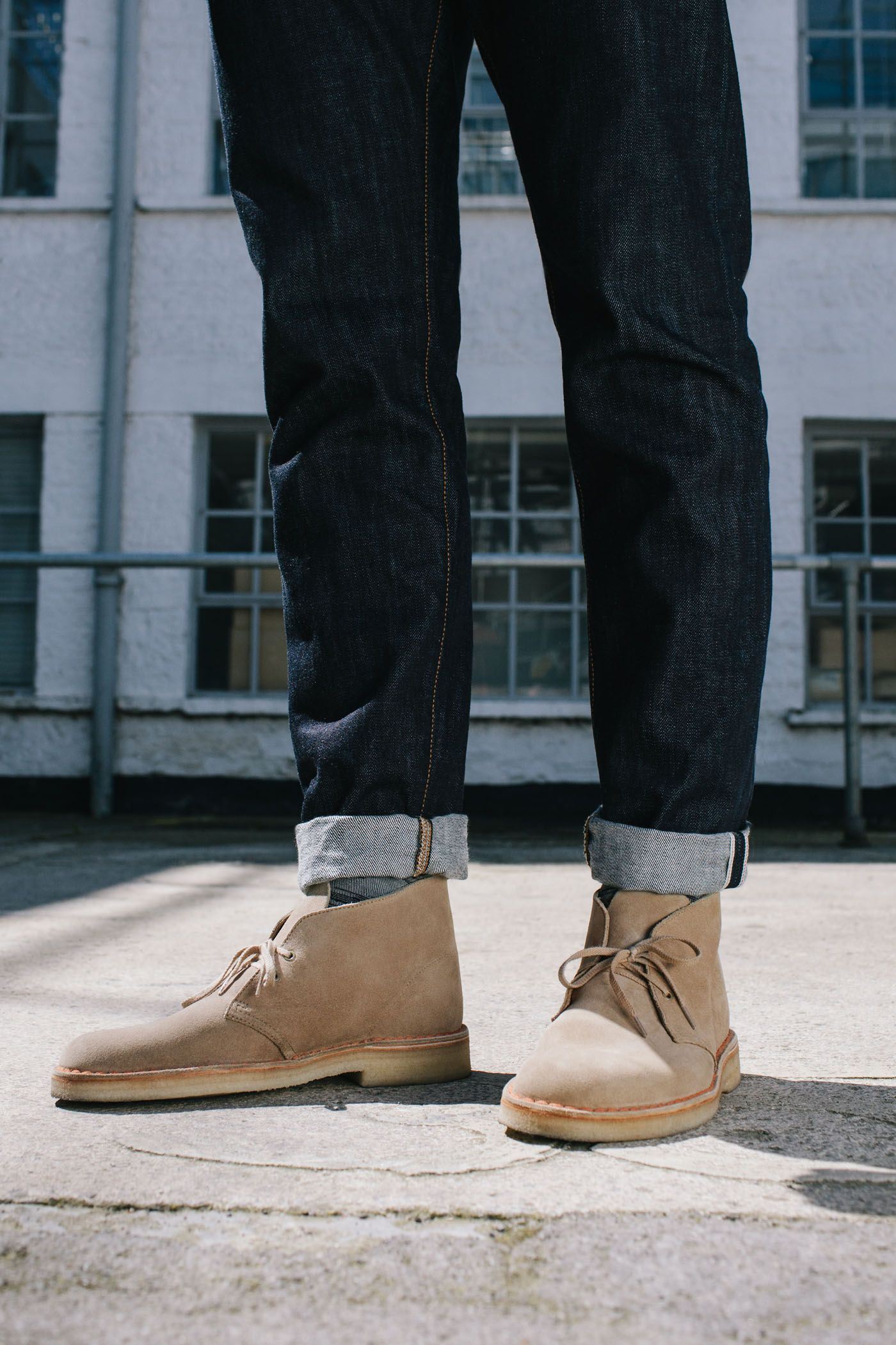 ade777a5 Clarkes Desert Boot in Sand Suede | Men's Fashion in 2019 | Clarks ...