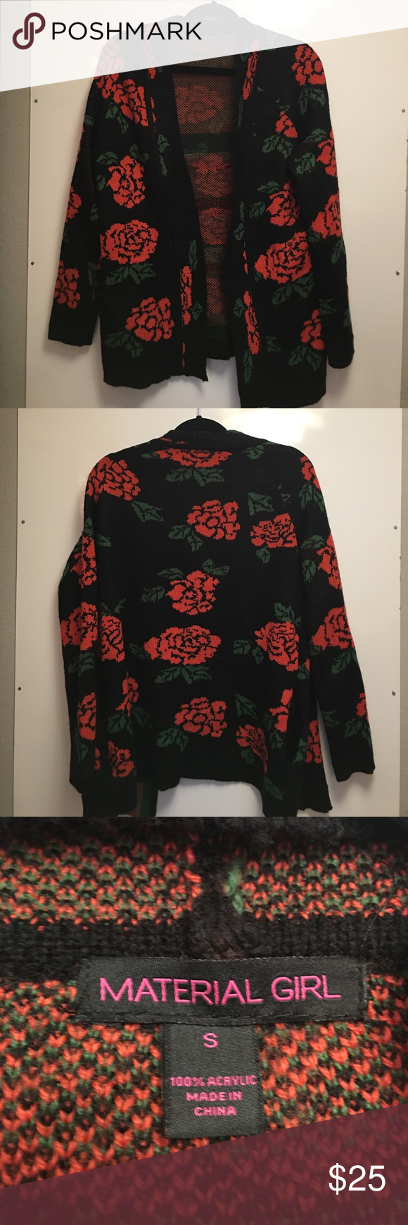 Free People Flower Power Cardigan Dupe ***not FREE PEOPLE*** Pattern dupe of Free People Flower Power Cardigan. From a brand sold in Dillard's. Worn less than 3 times.... great condition! Free People Sweaters Cardigans