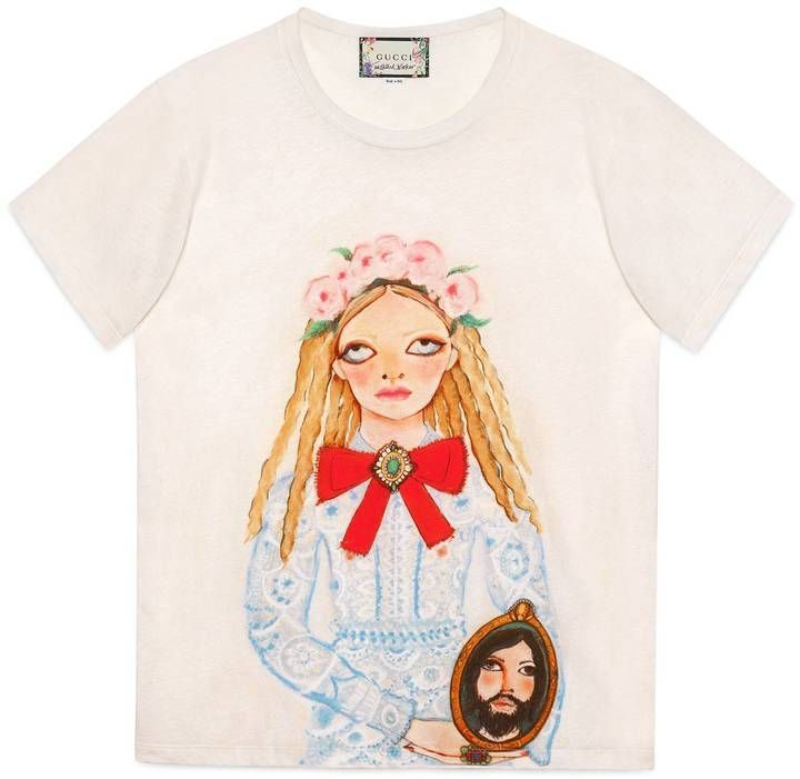 d33853e28 Gucci Unskilled Worker T-shirt   Shop the look products   Gucci tee ...